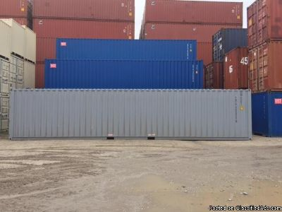 Used Shipping Containers on sale at Newark!