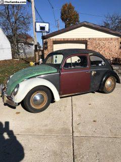 1958 Volkswagen Beetle Sedan Rat Driver