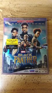 Brand new, never opened. Black Panther