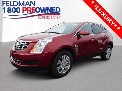 2013 Cadillac SRX Premium Collection (Crystal Red Tint)