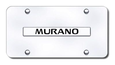 Sell Nissan Murano Name Chrome on Chrome License Plate Made in USA Genuine motorcycle in San Tan Valley, Arizona, US, for US $29.87