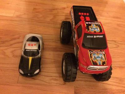 Battery toy truck car