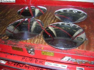 Porsche 1964-65 911 hub caps-four