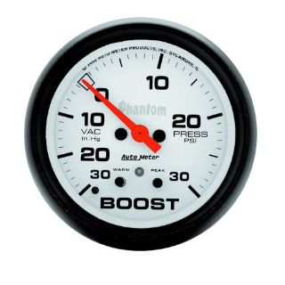 Find AutoMeter 5877 Phantom Electric Boost/Vacuum Gauge motorcycle in Naperville, IL, United States, for US $244.95