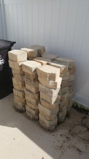 White Retaining Wall Block