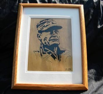 USMC Chesty Puller artist picture