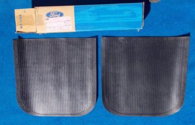 Purchase Ford NOS FOMOCO Rear Floor Mat Universal Original FOMOCO D6FZ-6213106-A motorcycle in Great Bend, Kansas, United States, for US $29.99