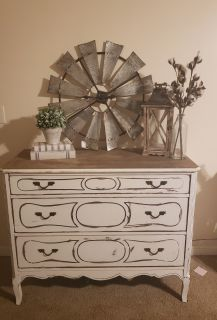 Antique dresser/accent table