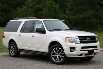 2017 Ford Expedition EL XLT (White)