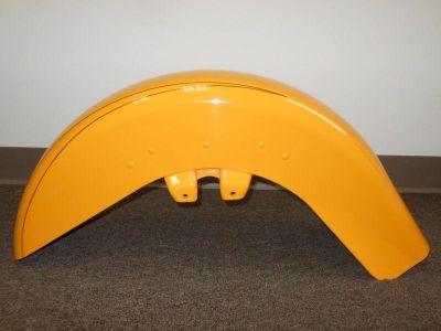 Sell 2012 HARLEY DAVIDSON FLTRX FRONT FENDER CHROME YELLOW UESD motorcycle in Glendale Heights, Illinois, US, for US $200.00