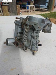 2 Rebuilt 34 pict 3 Carburetors.