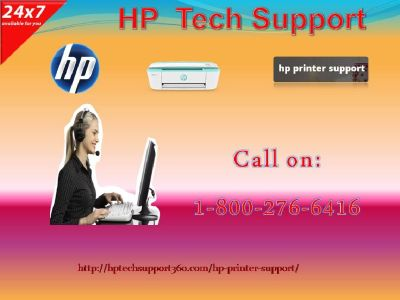 Avail Hp Tech SupportFor Getting Reliable Services1-800-276-6416?