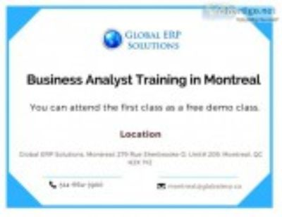 Business analyst (ba) training in montre
