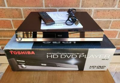 Toshiba HD A2 HD DVD Player With Remote
