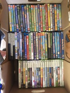 DVD s and Xbox 360 games