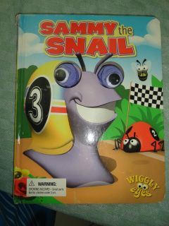 WIGGLY EYES ''SAMMY THE SNAIL'' BOARD BOOK 1 OF 2 PICS