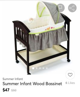 Looking for summers infant bassinet