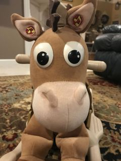 Bullseye from Toy Story rocking horse MEET IN GALLATIN