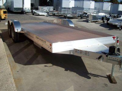 """NEW Featherlite 17.5"""" Aluminum Car Hauler"""