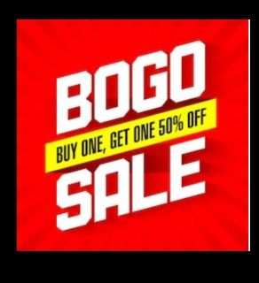 Buy One Get One 50% Off Sale