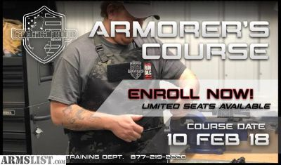 For Sale: AR Armorer's Course this Saturday 03 FEB!!