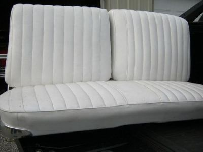 $300 For Sale Front Bench Seat 64 Impala White in Great Cond Call [phone removed]