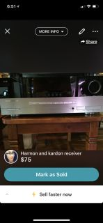 Harmon and kardon receiver
