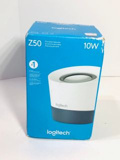 New! Logitech Z50 10W Portable Speaker $10