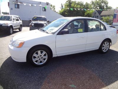2003 Honda Civic EX (White)