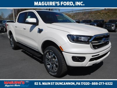2019 Ford Ranger (White Platinum)