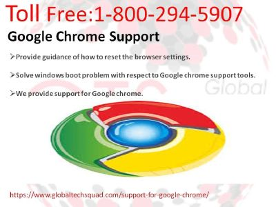 Support for Google Chrome dial :-1-800-294-5907