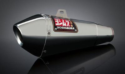 Buy Yoshimura R-55 Stainless/Stainless Slip-On Exhaust 2008-2010 Suzuki GSX-R600 750 motorcycle in Ashton, Illinois, US, for US $424.36