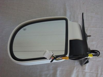 Find NOS OEM GMC Jimmy Envoy Olds Bravada Remote Heated Mirror White Left 4WD 1999 motorcycle in Hustisford, Wisconsin, US, for US $39.95