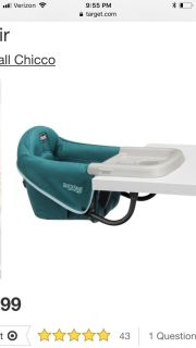 ISO portable high chair that clamps to a table.