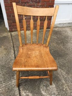 Antique Handmade American Chair