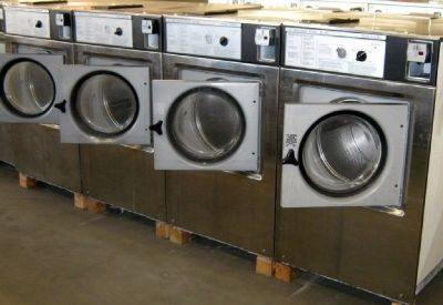 Fair Condition Wascomat Front Load Washer W125 3PH Stainless Steel