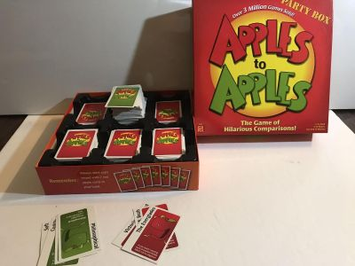 Apple to Apples Party Box Mint condition