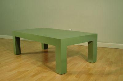 Standard Large Green Coffee Table