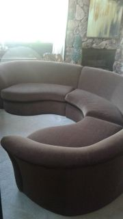 3PC Curved Sectional Couch