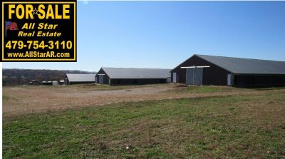 Tyson contract Chicken (Broiler) Farm with 3 Poultry Houses and 40 Acres