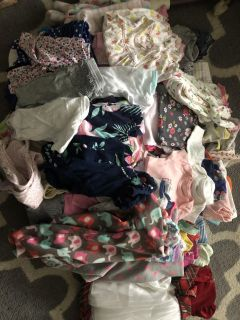 Baby girls mixed lot over 100 pieces