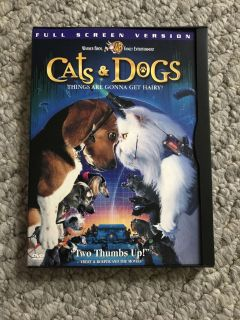 Kids DVD Movie - Cats and Dogs