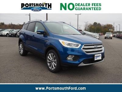 2018 Ford Escape Titanium (Lightning Blue Metallic)