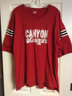 Canyon Cougar Jersey Style Tee