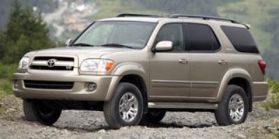 2006 Toyota Sequoia Limited (Tan)