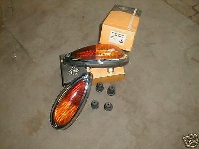 Purchase PORSCHE 356 NOS TAIL LIGHTS LIGHT LAMPS NEW OLD STOCK RED AMBER motorcycle in Los Angeles, California, US, for US $545.00