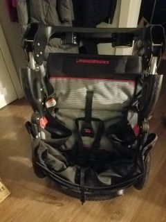 Used BabyTrend Jogger Stroller and Carseat Base