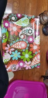Large paisley serving tray