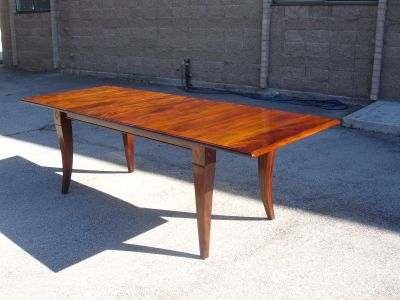 Extension Dining Table with saber legs