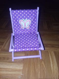 Foldable doll chair